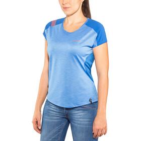 La Sportiva TX Combo Evo t-shirt Dames, cobalt blue/marine blue